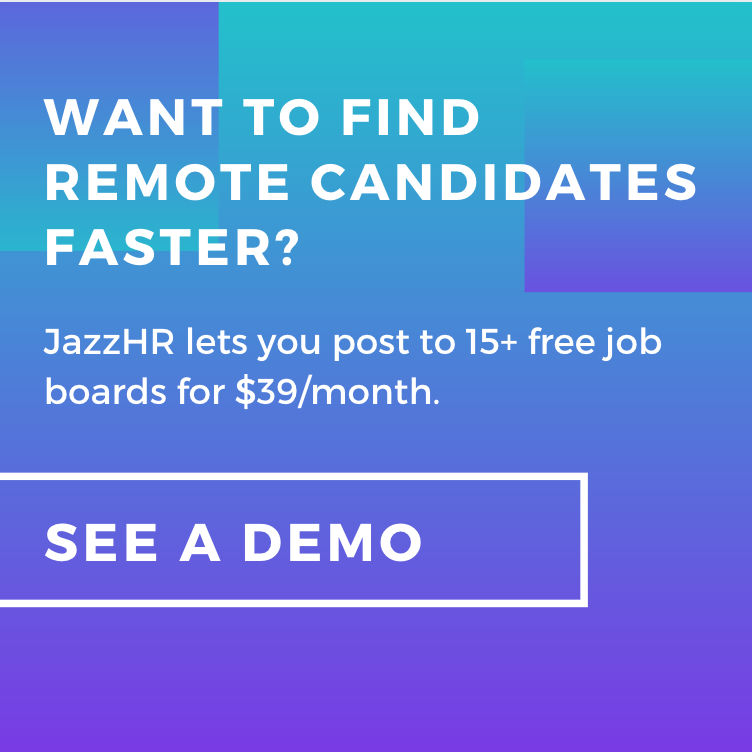 See a demo of JazzHR