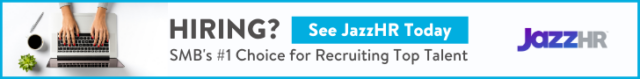 Try JazzHR to streamline your hiring.