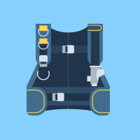vest diving image